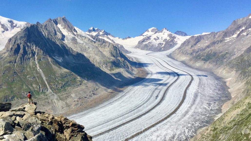 Le tourisme sur les grands sites glaciaires alpins à l'heure du changement climatique
