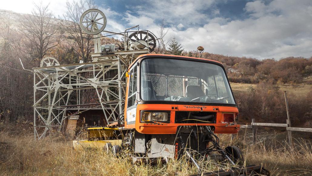 La montagne désarmée, trajectoires des stations de ski abandonnées